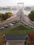 Мост Элизабета Стоковые Изображения