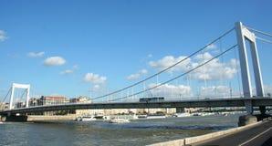 Мост Элизабета Стоковое Изображение