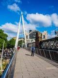 Мост юбилея в Лондоне, hdr Стоковое Изображение RF