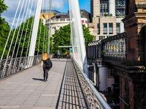 Мост юбилея в Лондоне, hdr Стоковое фото RF