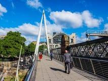 Мост юбилея в Лондоне (hdr) Стоковая Фотография RF