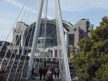 Мост юбилея в Лондоне Стоковые Фото
