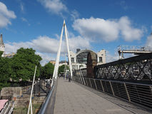 Мост юбилея в Лондоне Стоковые Изображения RF
