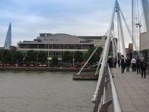 Мост юбилея в Лондоне Стоковые Фотографии RF