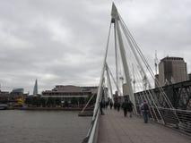Мост юбилея в Лондоне Стоковая Фотография RF