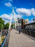 Мост юбилея в Лондоне (hdr) Стоковое Фото