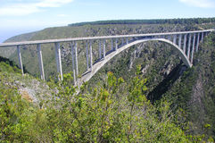 Мост Южная Африка Bloukrans Стоковое Изображение RF