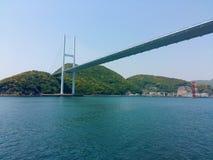 Мост Японии Megami стоковое изображение rf