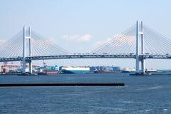 мост япония yokohama залива Стоковые Изображения