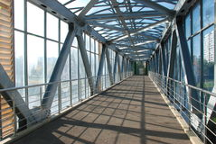 Мост для пешеходов Стоковое Изображение