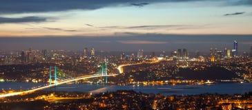 Мост 3 Bosphorus Стоковая Фотография RF