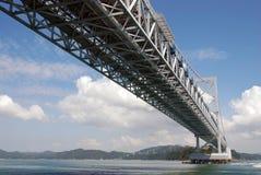 Мост Akashi Kaikyo Стоковое Фото