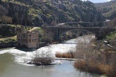 Мост Alacazar Alcantara Стоковая Фотография