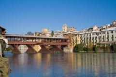 мост alpines Стоковые Изображения RF