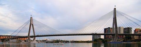 Мост Anzac Сидней Стоковые Изображения RF