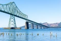 Мост Astoria-Megler между штатом Вашингтоном и Орегоном в Соединенных Штатах стоковая фотография