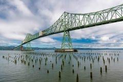 Мост Astoria-Megler стоковая фотография rf