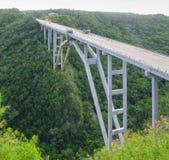 Мост Bacunayagua Стоковые Изображения RF