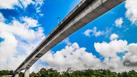 Мост Baleh стоковые фотографии rf