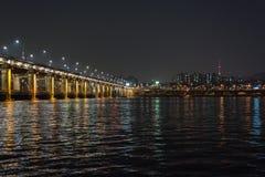 Мост Banpo Стоковая Фотография