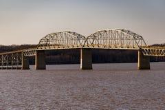 Мост Barkley озера - озеро Barkley, Кентукки стоковое фото