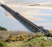 мост barmouth Стоковые Фотографии RF