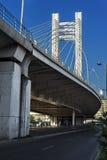 Мост Basarab в Бухаресте Стоковая Фотография