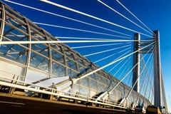 Мост Basarab Стоковое фото RF