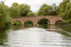 мост berkshire sonning Стоковое фото RF