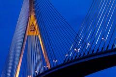 Мост Bhumibol в Таиланде Стоковые Фотографии RF