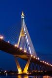 Мост Bhumibol в Таиланде Стоковые Изображения