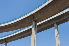 Мост Bhumibol или мост промышленных колец Стоковые Изображения RF