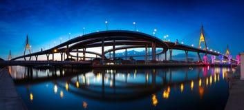 Мост Bhumibol Стоковые Изображения
