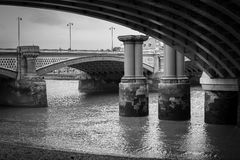 Мост Blackfriars, Лондон стоковые фотографии rf