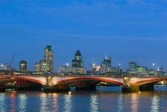 мост blackfriars Стоковые Изображения