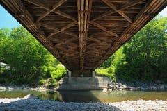 мост blenheim покрытый вниз Стоковые Изображения