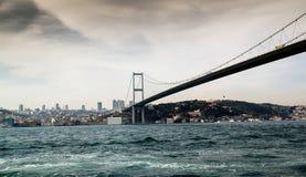 Мост Bosfor Стоковые Фотографии RF