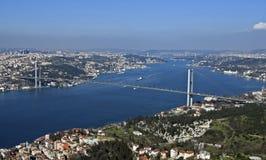 мост bosphorus стоковые фото