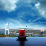 мост bosphorus Стоковое Изображение RF