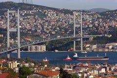 мост bosphorus Стоковая Фотография RF