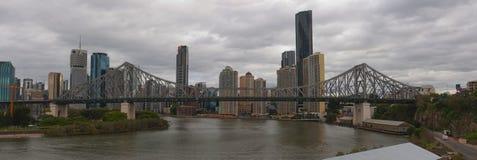 Мост Brisbane рассказа стоковое изображение