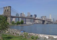 мост brooklyn Стоковые Фото