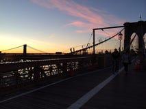 мост brooklyn Стоковые Фотографии RF