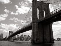 мост brooklyn Стоковое Фото