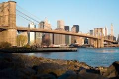 мост brooklyn стоковое изображение rf