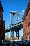 мост brooklyn New York Стоковые Фотографии RF