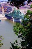 мост budapest стоковое фото