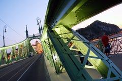 мост budapest стоковое изображение