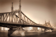 мост budapest Стоковые Фото