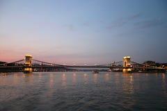 мост budapest Стоковые Фотографии RF